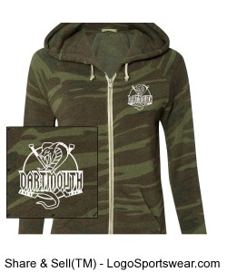 Alternative Apparel Ladies Eco Fleece  Design Zoom
