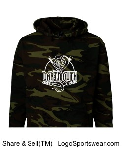 Code V Adult Camouflage Hooded Sweatshirt Design Zoom